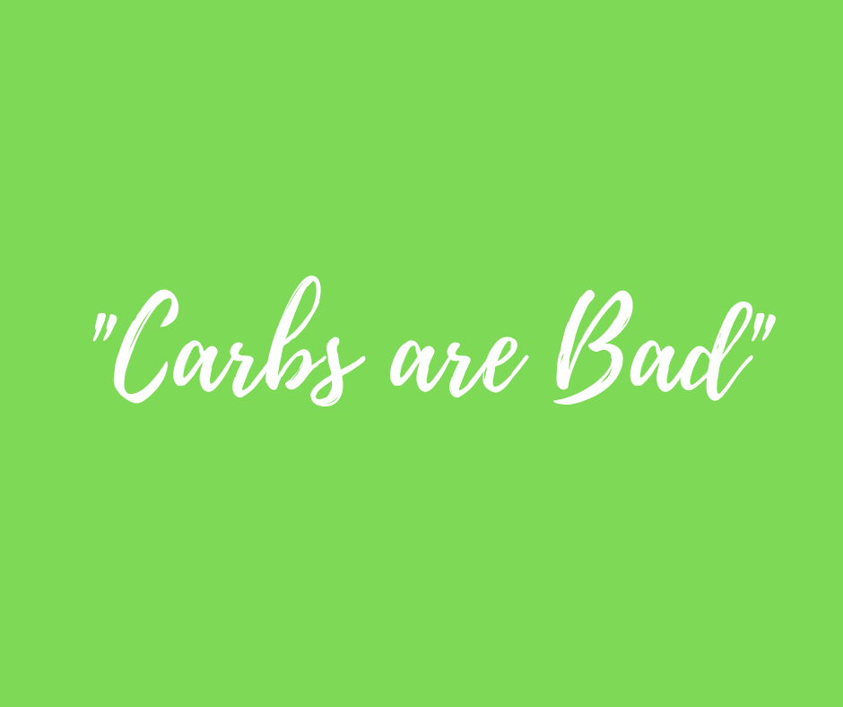 Carbs are Bad